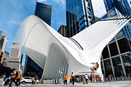 World Trade Center Transportation Hub or in New York