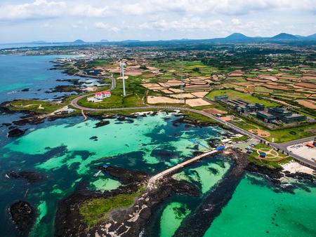 jeju island  scenery Stock Photo