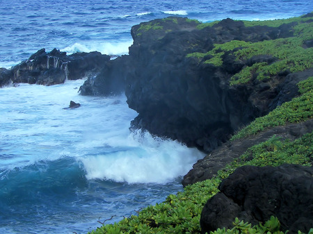 hana coast- seven sacred pool np, hawaii photo