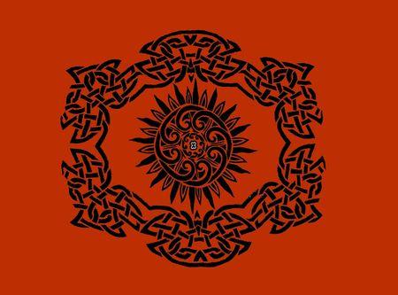celtic tribal art