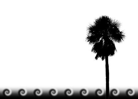 Tropische Palm-design Standard-Bild - 2019326