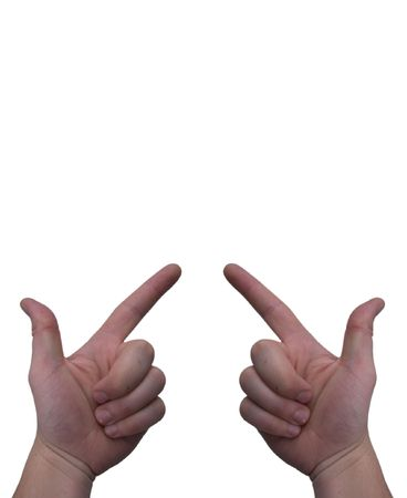 fingers pointing Stock Photo - 2019197