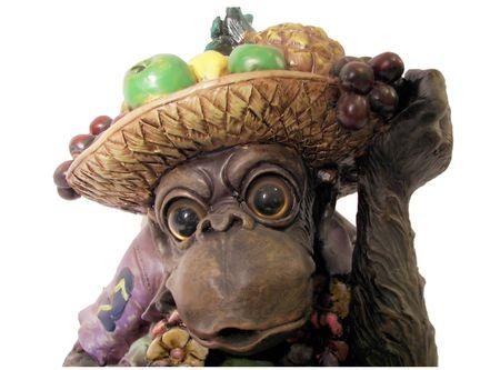 party monkey close up Stock fotó