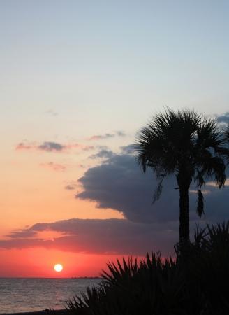 florida coastal sunset photo