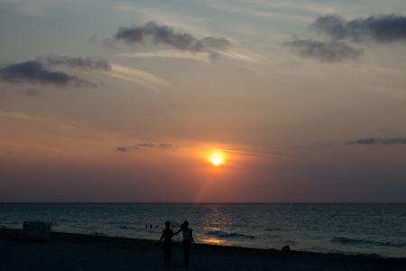 varadero: Sunset at Varadero