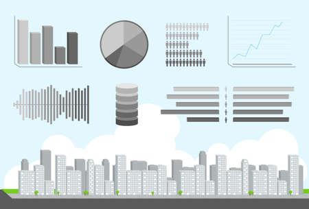 daytime: City Daytime Infographic