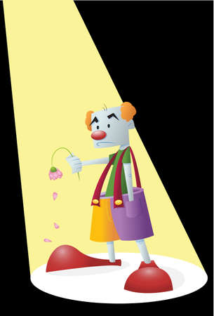 dying: Sad Clown