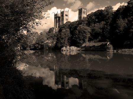 durham: Durham Cathedral Stock Photo