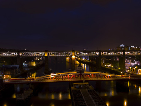 nightview: Nightview up the River Tyne