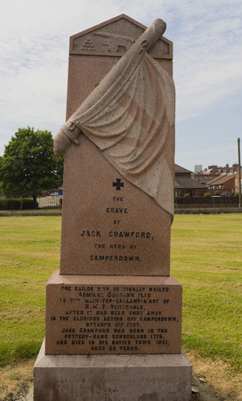 Grave of Jack Crawford Sunderland