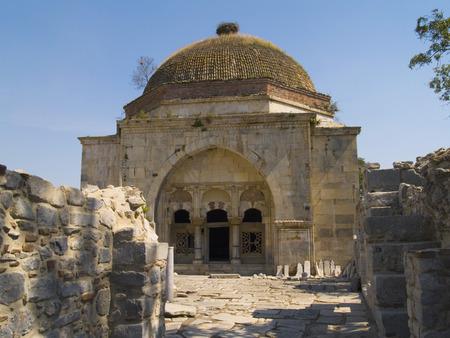 metre: Ilyas Bey Mosque Turkey