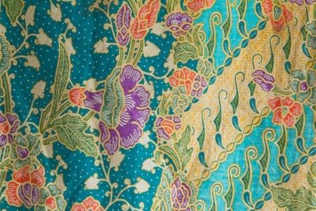 Fabrics for sale in Thailand, Ubon photo