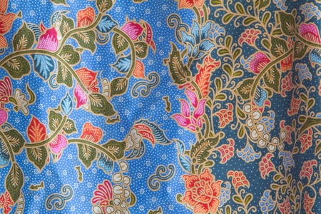 Fabrics for sale in Thailand, Ubon Stock Photo - 9322109
