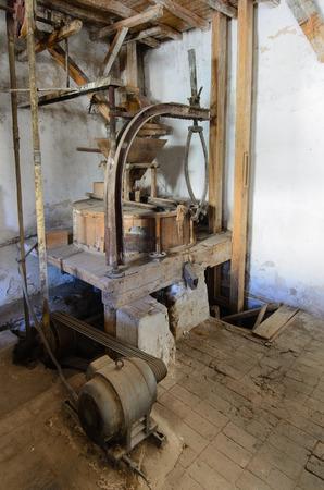 flour mill: Old Flour Mill III Stock Photo