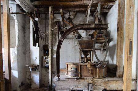 flour mill: Old Flour Mill II Stock Photo