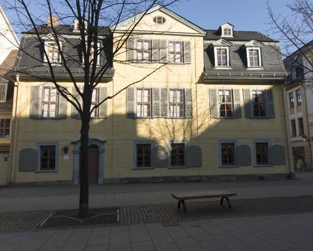 friedrich: Residence of Friedrich Schiller in Weimar Germany Editorial