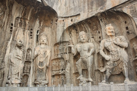 Longmen Caves in Luoyang, China Stock Photo - 8745782
