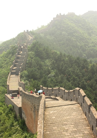 simatai: The Great Wall of China. The section in Jinshanling - July 18th, 2010