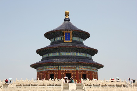 Chinese architecture - Temple of Heaven in Beijing, China photo