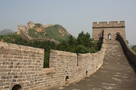 The Great Wall of China - Jinshanling section Stock Photo