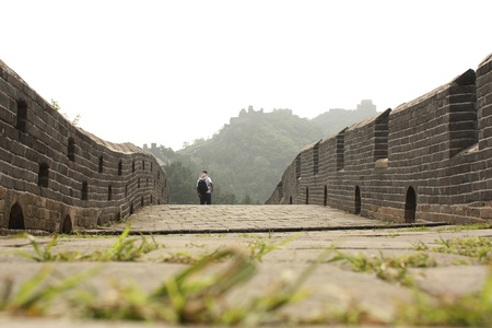 jinshanling: The Great Wall of China - Jinshanling section Stock Photo