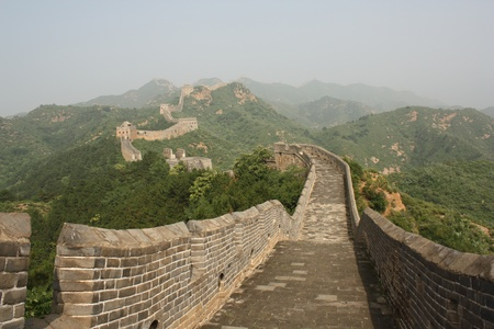 beijing: The Great Wall of China - Jinshanling section Stock Photo