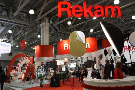 Rekam stand on the exhibition Photoforum-expo 2010 in Moscow -  April 17, 2010
