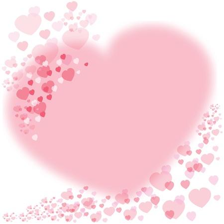 corazon rosa: Fondo de coraz�n de amor