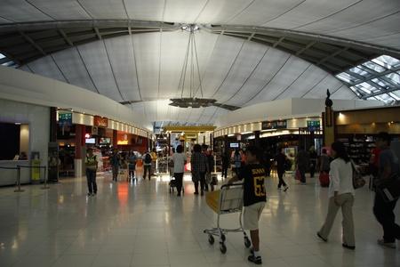 duty: Duty Free Shopping area at the Suvarnabhumi Airport (Bangkok International Airport), Thailand. 17.08.2011