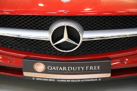 Mercedes-Benz in Qatar Duty Free 21.07.2011 Stock Photo - 10971015