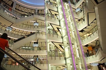 Modern Shopping mall Central World Plaza in Bangkok, Thailand 22.07.2011  Stock Photo - 11078960