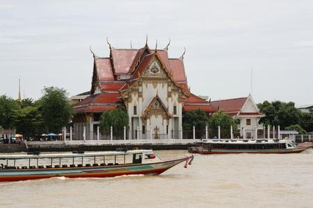 phraya: Bangkok - The view of Chao Phraya river, Thailand - 23.07.2011