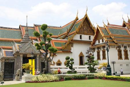 Grand Palace in Bangkok, Thailand - 23.07.2011