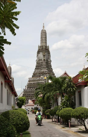 priory: Wat Arun, known as the Temple of Morning Dawn, in Bangkok, Thailand - 23.07.2011