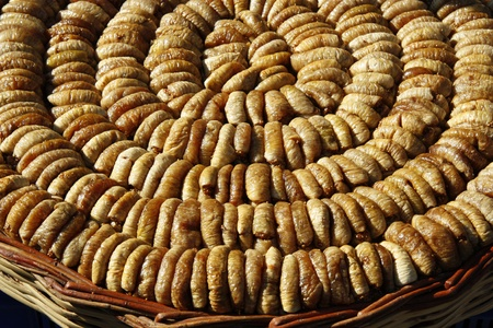 common market: Dried Fig at the market Stock Photo