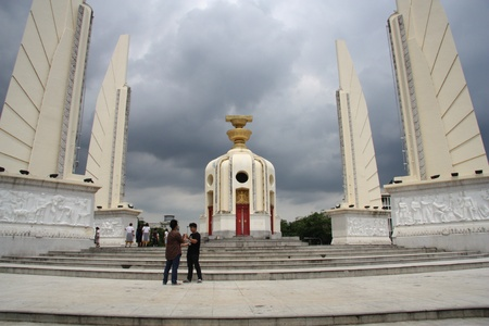 Democracy monument in Bangkok, Thailand - 23.07.2011