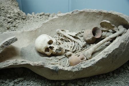 catacomb: Ancient human Editorial