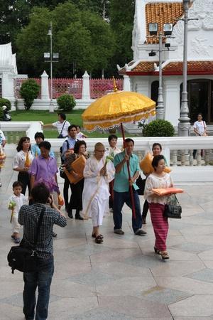 Buddhist Monk Ordination, Bangkok, Thailand - 23.07.2011 Stock Photo - 11653028
