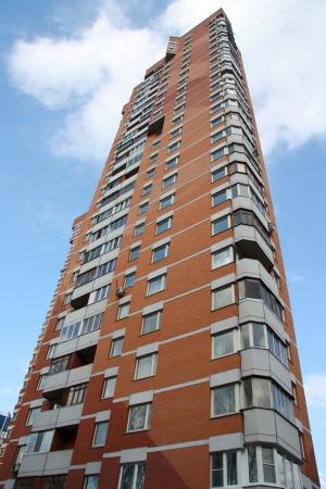 brick block of flats