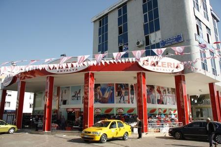 Modern shopping mall in Antalya, Turkey - 30.11.2011