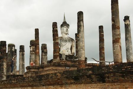 take a history: Ruins of ancient Sukhothai, Thailand
