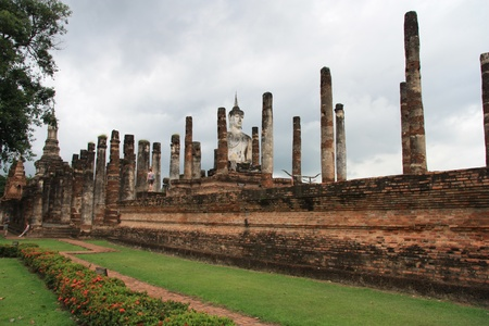 Ruins of ancient Sukhothai, Thailand photo