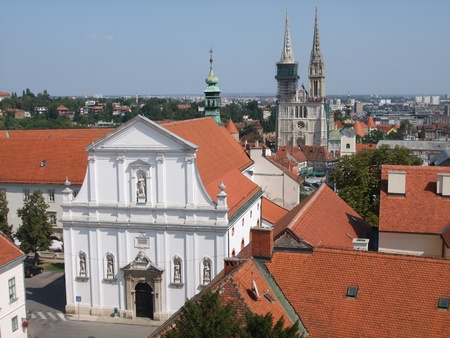 rapture: Cathedral of Mary s rapture in Zagreb