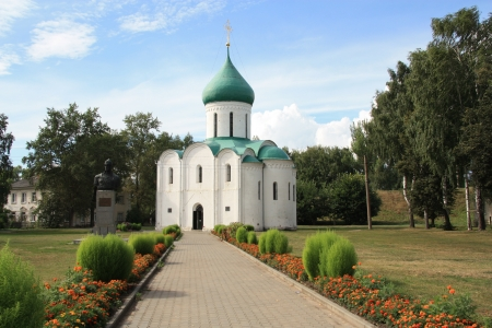 Ancient Cathedral in Pereslavl, Russia Stock Photo - 13889045