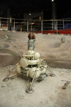 Lunar robot for study of the Moon in the Astronautics museum in Moscow, Russia - 14.01.2012 Editorial