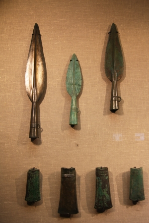 showpiece: Ancient bronze spears