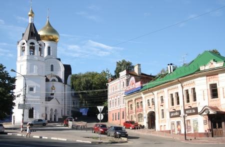 gorki: Historical district of Nizhny Novgorod, Russia - August 07th, 2012