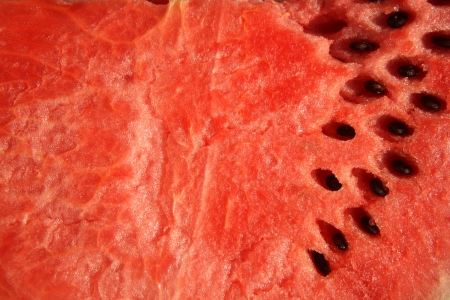 Ripe Watermelon with seeds Stock Photo - 18157477
