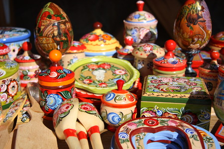 Traditional Souvenirs from Russia photo
