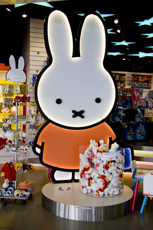 schiphol: Official Miffy store in Amsterdam Schiphol Airport, Netherlands